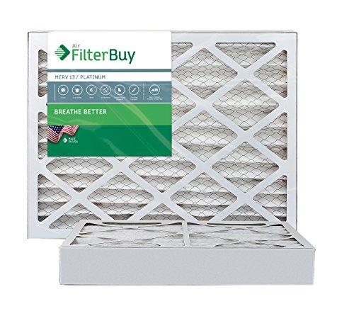 Ofen Filter/Air Filter–AFB Platinum Merv 13(2Pack), AFB10x18x4M13Apk2 (Merv Filter Honeywell 10)