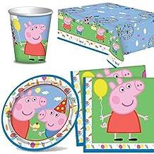 Peppa Pig Vajilla Pack para 8