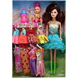 Wish Key Doll With Multiple Dresses - Multi Color