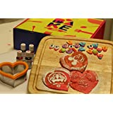 Bake Me Colourful Pancake Baking Kit ( In Ingredients Pancake Mix, Icing Sugar To Sift On Stencil And 3 Edible...
