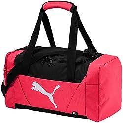 Bolsa Puma Fundamentals Sports XS, color Paradise Pink, tamaño 43x22x2.5 cm