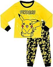 Pokémon - Pigiama a Maniche Lunga per Ragazzi di Pikachu