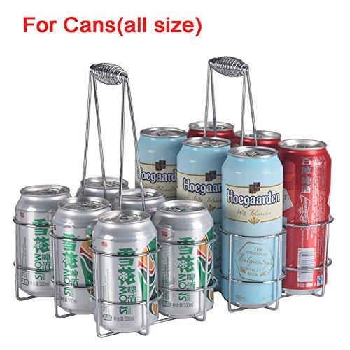 Naisidier Bierkiste Flaschenträger, auch für Bierdosen