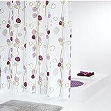 LUYIASI- European-Style High-End-Mode Schöne wasserdichte Serie von Duschvorhängen zu verhindern, Moldy Purple Blue Polyester Duschvorhang 180CM x 200CM (ausgestattet mit umweltfreundlichen C-Typ Haken) Shower Curtain ( Farbe : Lila )