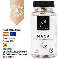 Maca. Alta concentración de maca andina pura, equivalente a 5000mg. Aumenta el nivel de testosterona. Potente potenciador muscular. Ingredientes de máxima calidad y efectividad para aumentar los niveles de energía, resistencia y libido. PREMIUM QUALITY.