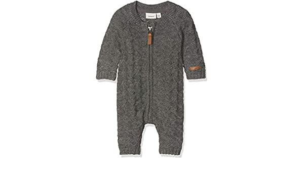 Name It Nmmwrilla Wool Ls Knit Suit Noos Combinaison B/éb/é gar/çon