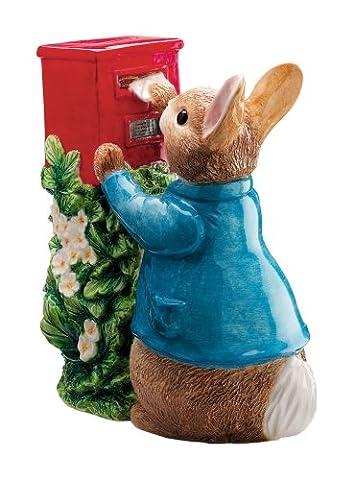 Beatrix Potter Tirelire Pierre poste une lettre