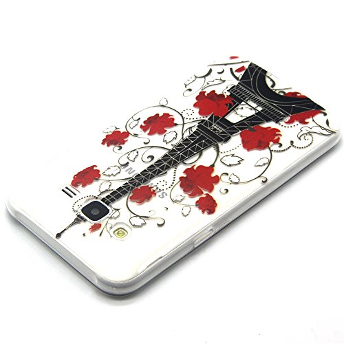 Samsung J5 Bumper - Felfy Ultra mince Slim Unique White Feather and Bird Design Style Gel Souple Soft Flexible TPU Silicone Coque Etui Protective Housse Case Cas Cover Couverture pour Samsung Galaxy J Clair TPU #8