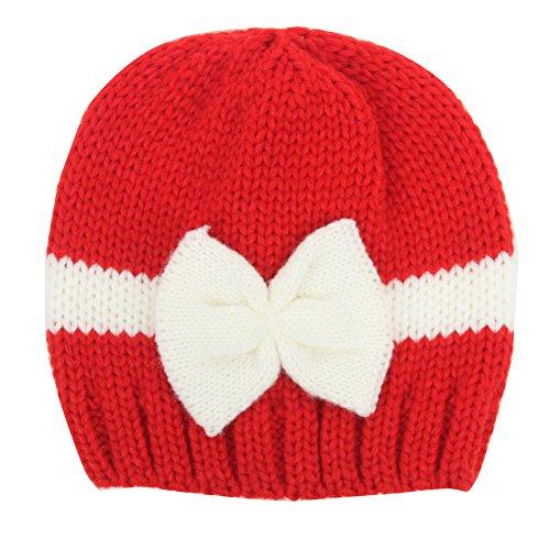 Fletion Baby Mädchen Jungen Winter Warme Strickmütze Kinder Baumwolle Mützen Hüte
