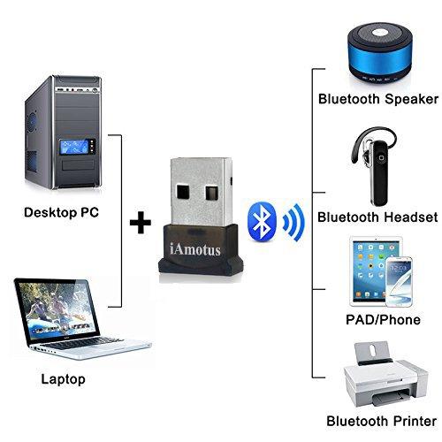 8 99 bluetooth adapter iamotus usb bluetooth 40 edr. Black Bedroom Furniture Sets. Home Design Ideas