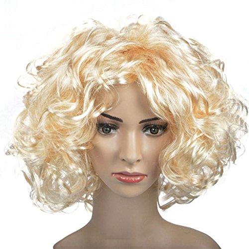 DZW Kopfschmuck Perücke, schwarz braun Bart gefälschte indische Bettler Perücke Gilt für dress up prom , gold (Perücke Kostüme Indische)