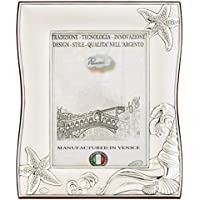 NETTUNO XL Cornice per Foto 13x18cm Portafoto Argento Artigianale Made in Italy