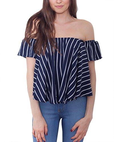 anmengte-womens-sexy-summer-casual-loose-off-shoulder-stripe-short-sleeve-tops-shirt-xl-navy-blue
