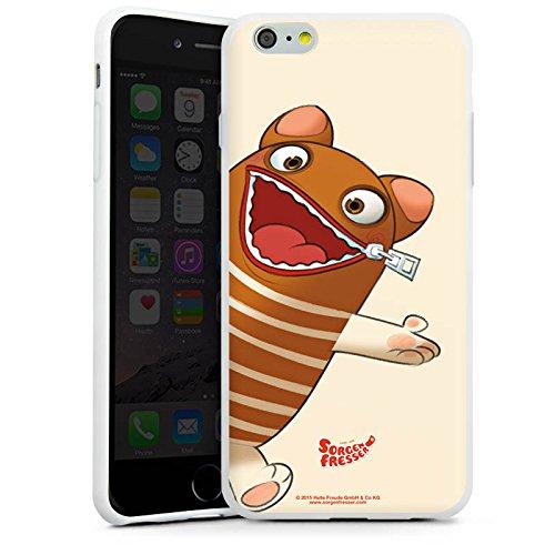 Apple iPhone X Silikon Hülle Case Schutzhülle Sorgenfresser Enno Fanartikel Merchandise Silikon Case weiß