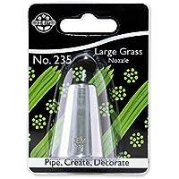 JEM NZ235 Douille Herbe Epaisse, Acier Inoxydable, Argent, 2 x 2 x 3.5 cmNZ235