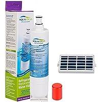 Cartucho de filtro de agua para nevera Whirlpool Ariston Fridge, sustituye a SBS002, S20BRS, 4396508 y Microban filtro de aire antibacteriano