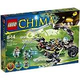 Lego Legends Of Chima - Playthèmes - 70132 - Jeu De Construction - Le Lance-missiles Scorpion De Scorm