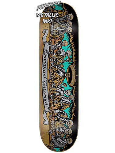 Santa Cruz Skateboard Deck Guzman Powerply 8.26