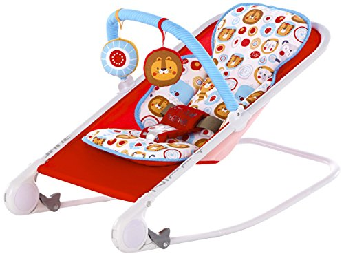 Jane modelo 6100 S40 hamaca bebe nippy rojo