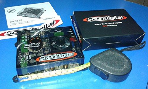 Amplificatore SounDigital Nano SD250 2D 2 Canali 250W rms 2Ω dimensioni  ridotte sound digital