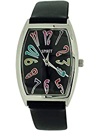 Spirit aspl59 – Watch For Women, Black Plastic Strap