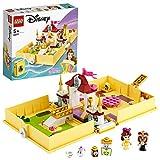 LEGO- Disney Princess Belle e la Bestia PlaySet con i Personaggi del Principe, Guardaroba, Mrs.BRIC, Chip e Tockins, 43177