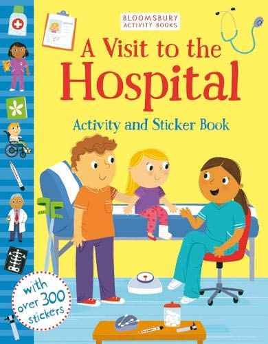 A Visit to the Hospital Activity and Sticker Book