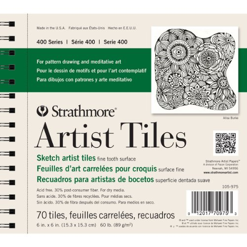 strathmore-artist-tiles-off-white-sketch-pad-of-70-6-in-x-6-in