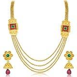 Sukkhi Astonish Jalebi 4 String Gold Pla...