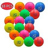 Macro Giant 11 Zoll (Umfang) 3,5 Zoll (Durchmesser) Schaum-Softball, 18-er Set, Multi-Color, Baseballtraining, Spielplatzball, Elternschaft, Geschenke für Kinder, Geburtstagsgeschenke