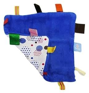 Snooze Baby Organic Happy Days Comforter (Blue)