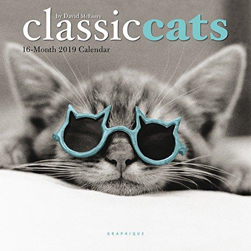 Classic Cats - Klassische Katzen 2019 - 16-Monatskalender: Original Graphique de France-Kalender