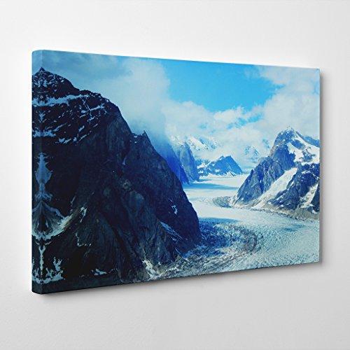 BIG Box Art Arty Pie Landscape Mt Denali McKinley Mountain 3