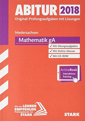 Abiturprüfung Niedersachsen 2018 - Mathematik GA inkl. Online-Prüfungstraining thumbnail