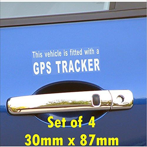 4 x dotato di un GPS esterna