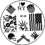 STAMPING-SCHABLONE # BP-38 USA, Amerika, New York, Freiheitsstatue