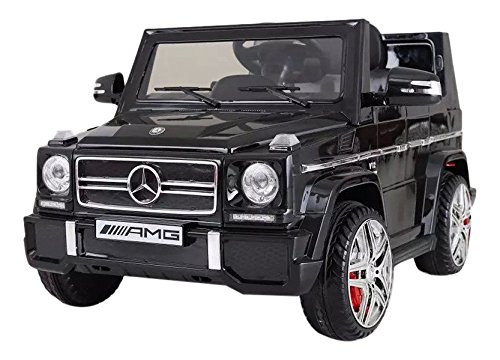 "Ricco LS528 ""Black Licensed Mercedes-Benz G65 Kids Ride on Powered Wheels"" Car with Remote Control"