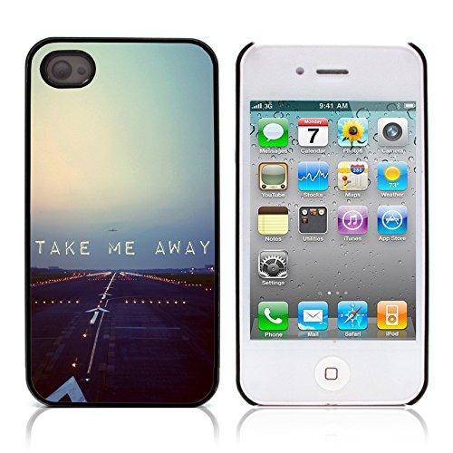 Graphic4You Happies And Crappies Englisch Zitat Nachricht Harte Hülle Case Tasche Schutzhülle für Apple iPhone 4 und 4S Design #16