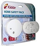 Detector de monóxido de carbono y humo alarma seguridad unidades | listo para su uso INC. Pilas