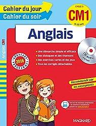 Cahier du jour/Cahier du soir Anglais CM1 - Nouveau programme 2016