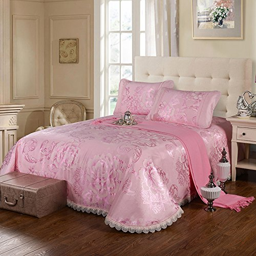 feuilles de style d'¨¦t¨¦ soie glac¨¦e haut de gamme si¨¨ges climatis¨¦s trois pi¨¨ces si¨¨ges /1.8m 1,5 m lit machine ¨¤ laver peut laver tapis pliant dormir , f , 1.8m