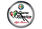 Wanduhr Mit Alfa Romeo 3