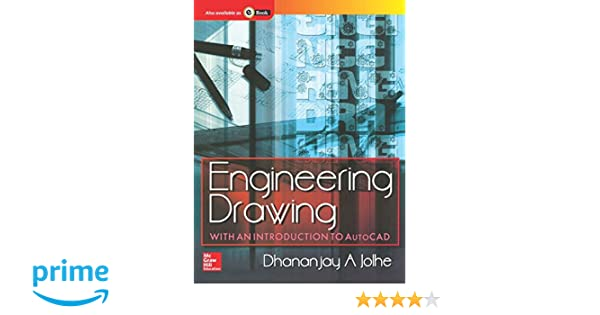 buy engineering drawing with an introduction to autocad book online