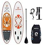 WOWSEA Surfboard aufblasbar Paddle, 2018Neue aufblasbare Paddle Board mit Größe 320* 81* 15cm