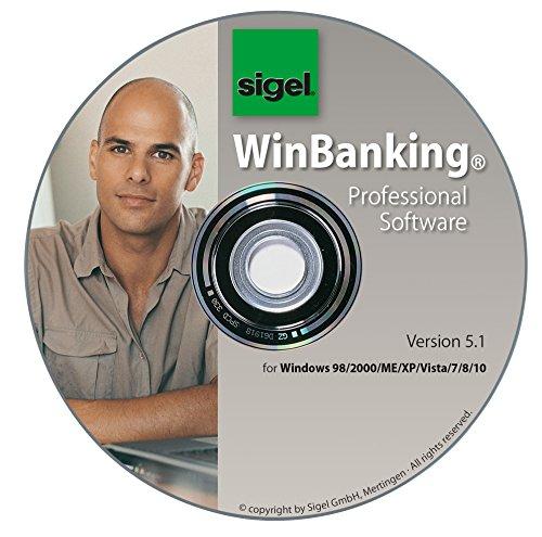 Sigel SW235 WinBanking Professional, Software für Bankformular-Management, inkl. 60 Bankformulare - auch für SEPA - 2