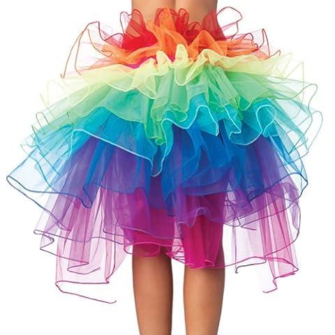 Regenbogen Rockkleid Netz Garn , HanSemay™ Tutu Rockkleid Sexy Beteiligte