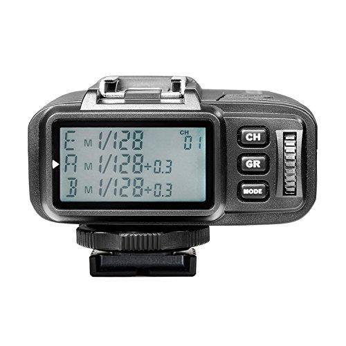 Neewer N1T-S TTL 2.4G 32 Kanäle Funk Blitz Auslöser Sender für Sony A77II A7RII A7R A58 A99 A6000 Kamera mit Mi Blitzschuh, Studio Blitze und Flash...
