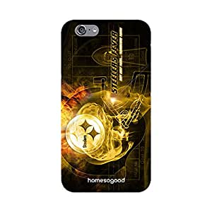 HomeSoGood Hardcore Sports Fan Multicolor 3D Mobile Case For iPhone 6 (Back Cover)