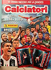 Idea Regalo - Album CALCIATORI 2018-2019 + 25 Figurine PANINI