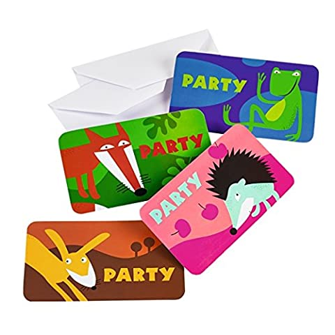 Amscan Animals Invitations and